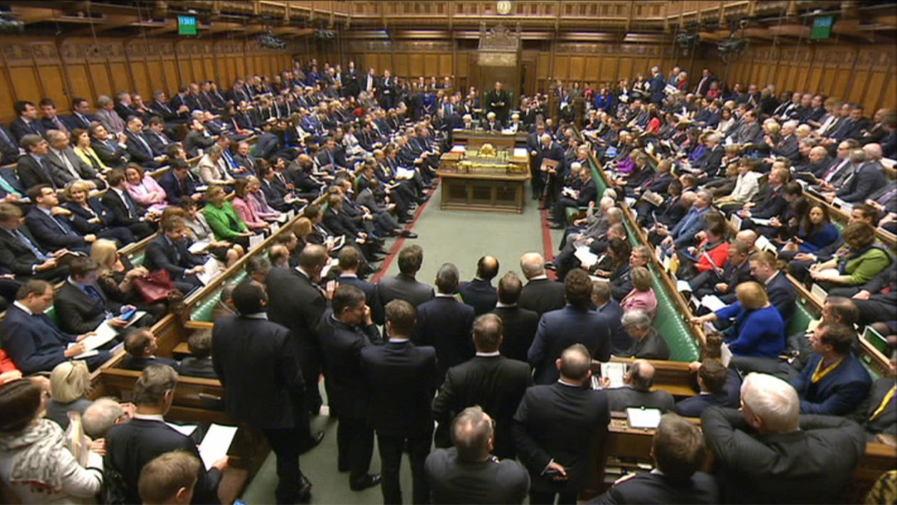 House of commons 2 dec syria